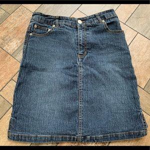 Vintage Y2k Goddess Jeans skirt